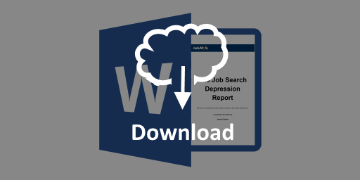 The Job Search Depression Report - wide download button