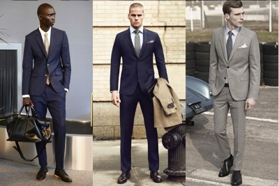 mens interview style