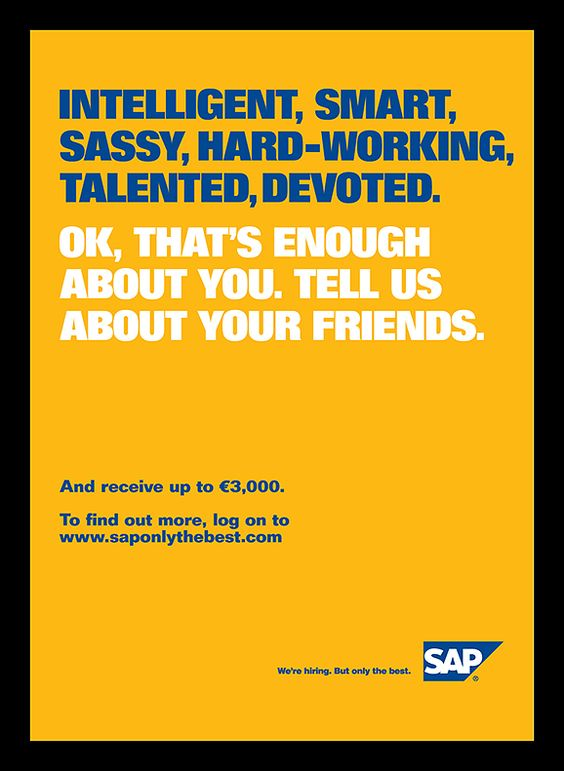 sap recruitment marketing