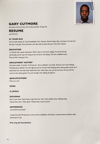 gary's resume recruitment marketing