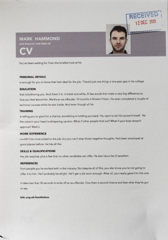 mark's resume recruitment marketing