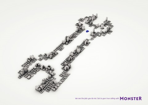 monster spanner recruitment marketing