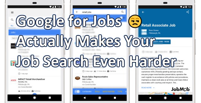😒 Google for Jobs Actually Makes Your Job Search Even Harder