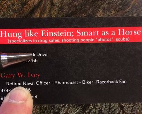 gary ivey business card