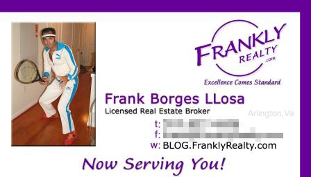 real estate broker business card