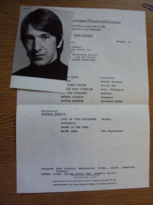 alan rickman acting resume
