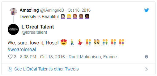 loreal application emoji